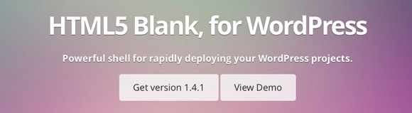 HTML5 Blank for WordPress