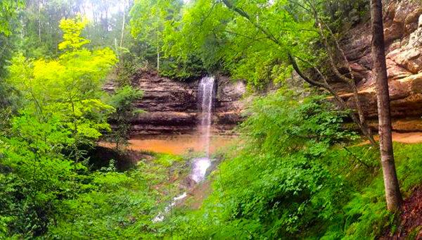 Summer Falls in Upper Michigan