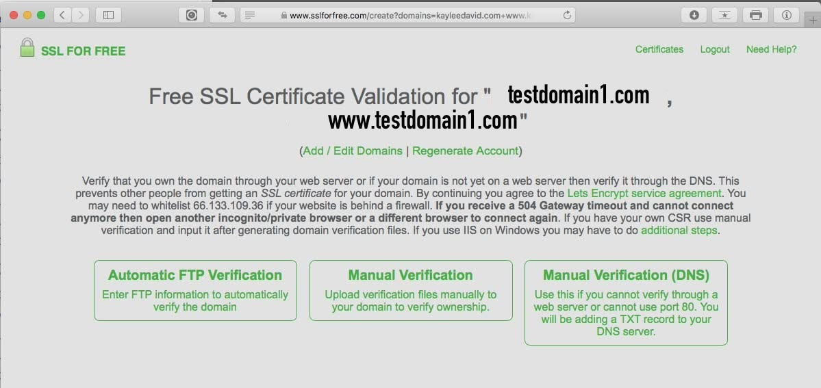 Install Let's Encrypt SSL on GoDaddy cPanel Hosting