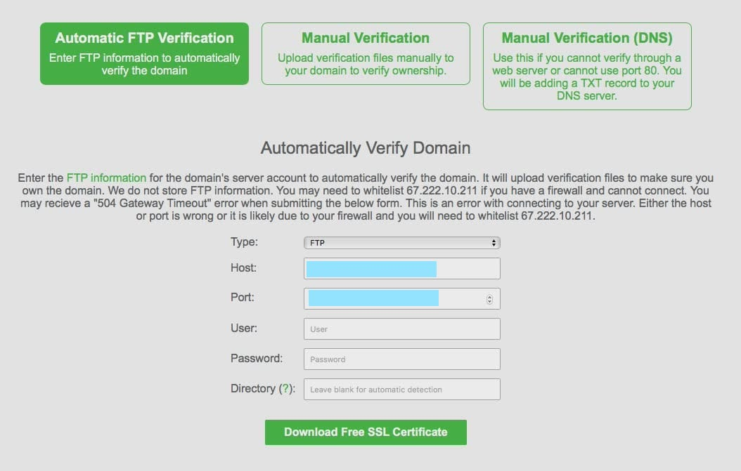 Visual Guide To Installing A Lets Encrypt Ssl On Media Temple Or A