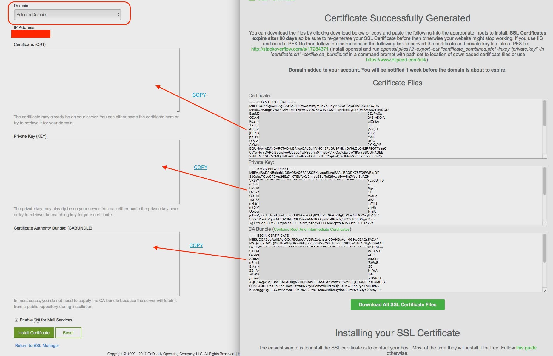 Visual Guide To Installing A Lets Encrypt Ssl On Godaddy Cpanel