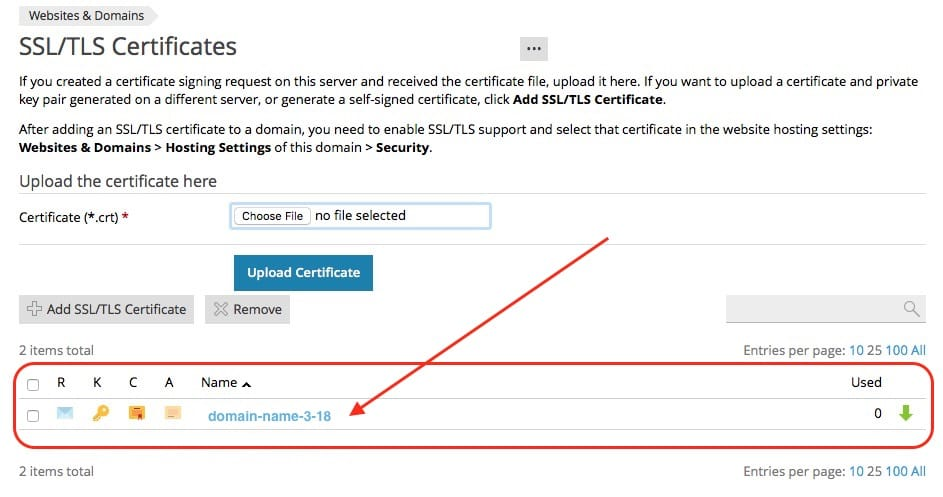 VISUAL GUIDE TO INSTALLING A LET'S ENCRYPT SSL ON MEDIATEMPLE OR PLESK HOSTING ACCOUNTS