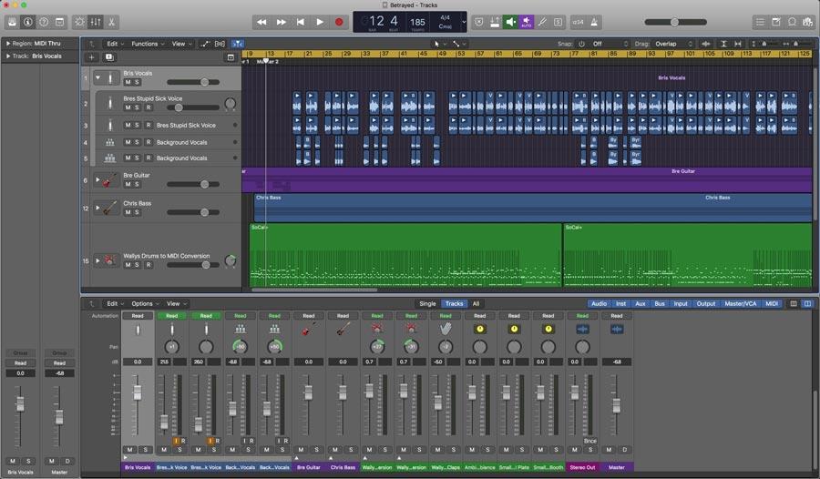 Music - Logic Recording