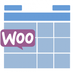 WooCommerce Tables